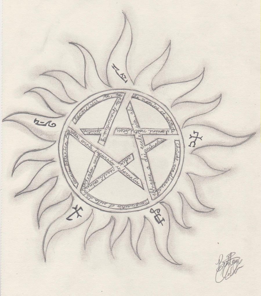 Anti Possession Symbol By Silently Crimson On Deviantart