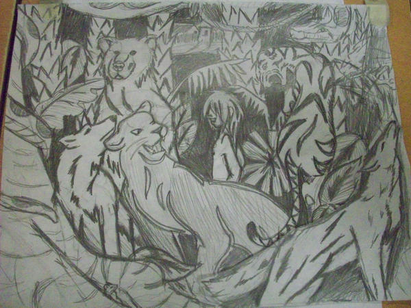 The Jungle Book sketch by Ratty08