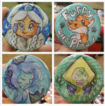 Button commissions from Mechacon 2015