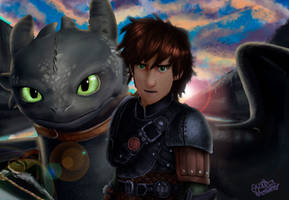 How to train your dragon by justinwharton