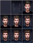 Rhett GMM Painting process