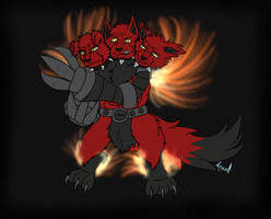 Flamerus Fullbody Color By  Aquatheohiokitty By De by DEVIOUS-DISCORD-RP