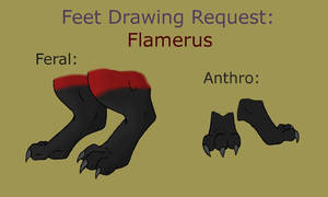 FLAMERUS FEET REF COLOR by crashazarel by DEVIOUS-DISCORD-RP