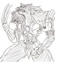 Flamerus Sketch By Bnnm040 By Devious Discord Rp-d by DEVIOUS-DISCORD-RP