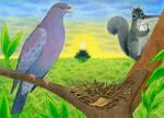 Leyenda Maya: El canto de la paloma