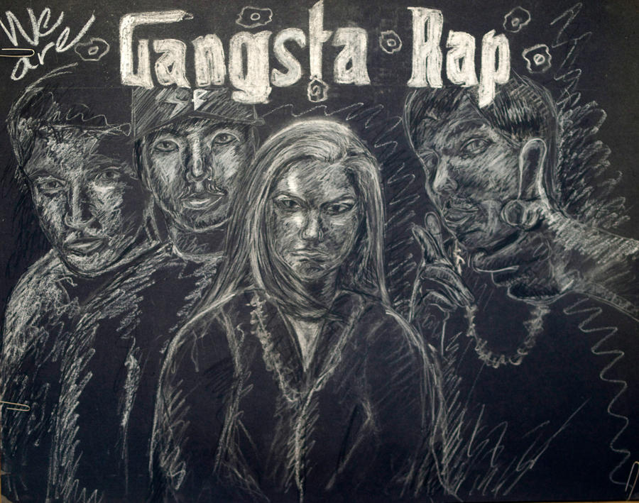 How to write a gangsta rap