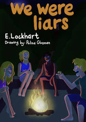 We were liars - book cover by Polina214