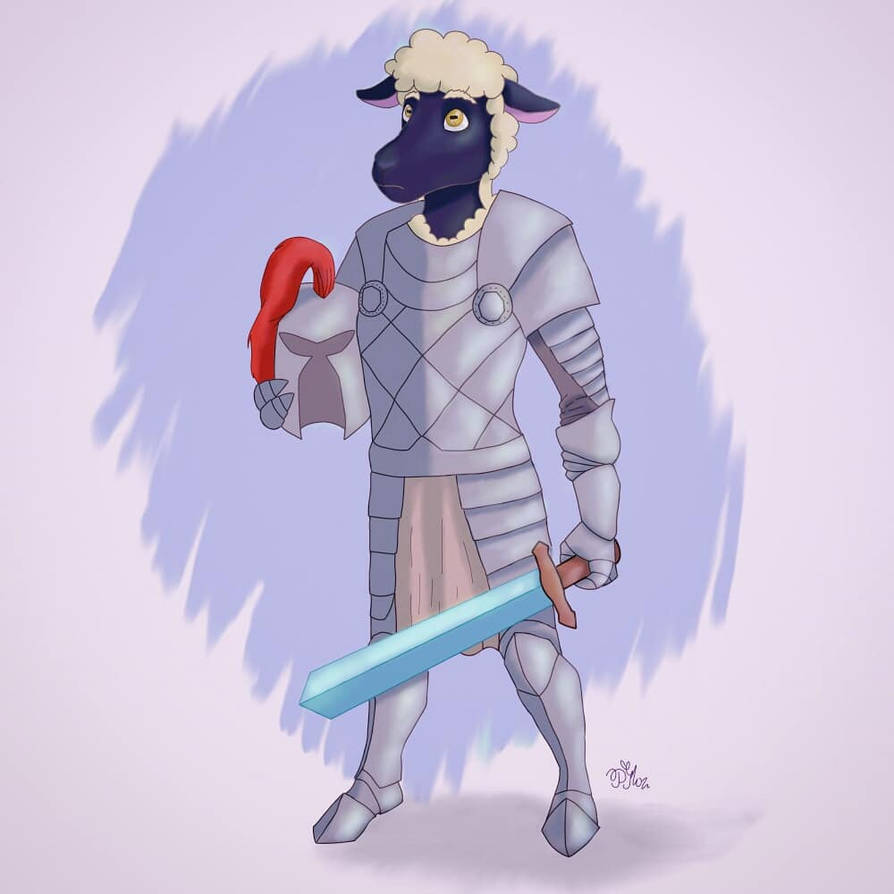 Sheep Knight by Polina214