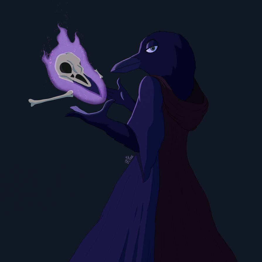 Crow Necromancer by Polina214