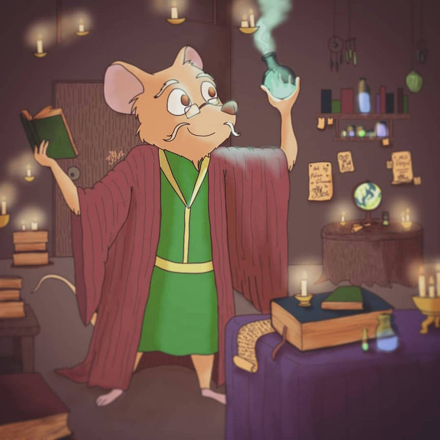 Mouse Alchemist by Polina214