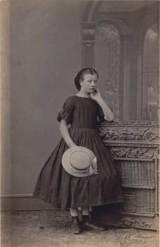 antique - young girl