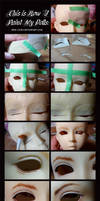 Doll Painting Process