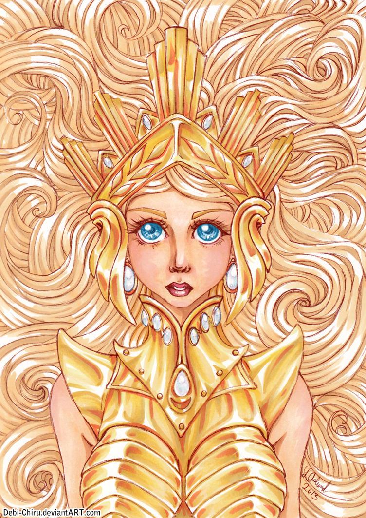 The Golden Girl - colour version by Fylgjur
