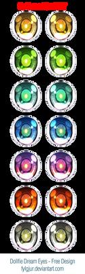 Dollfie Dream 'Illuminate' Eye Design - free
