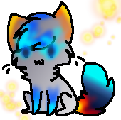Fire and Ice Cat Adopt (2 Points) (CLOSED) by Firestar999