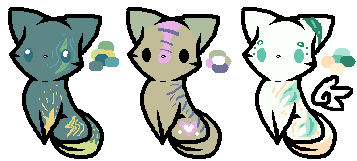 Cat Adopts Batch (Closed) (10 Points) by Firestar999