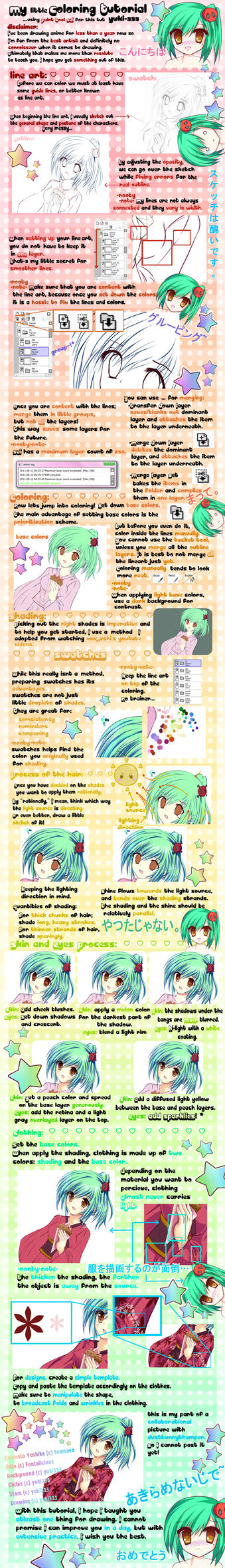 My little coloring tutorial by Yuki-333