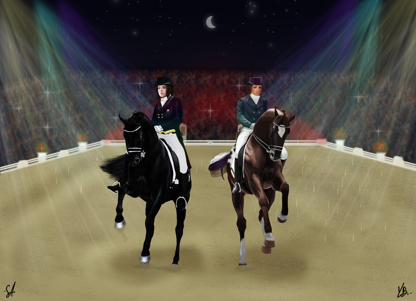 Pas De Deux-Demone and Dream of Glory by YleniaBax