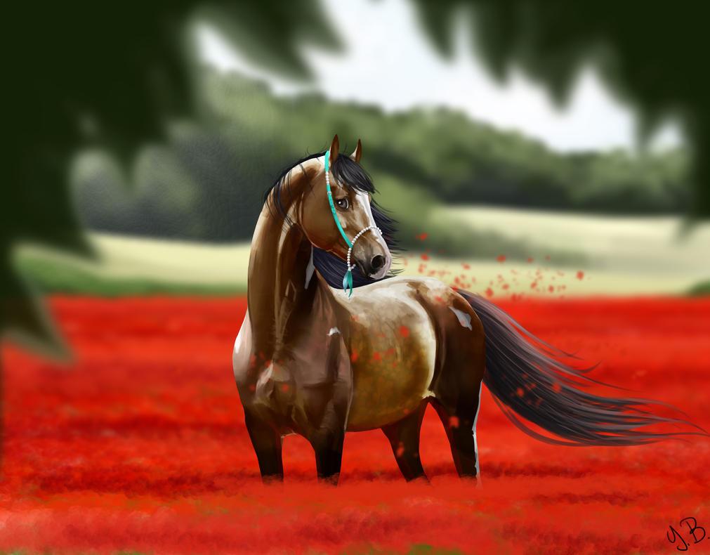 A reddish sea by YleniaBax