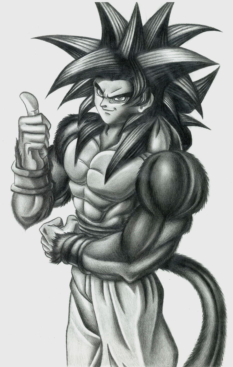 Goku fase 4 by Wawito on DeviantArt
