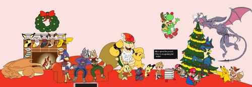 A Very Nintendo Christmas by Nijem