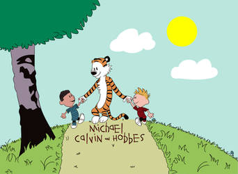 Michael Calvin and Hobbes by Nijem