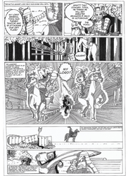 Usagi Yojimbo Comic Page