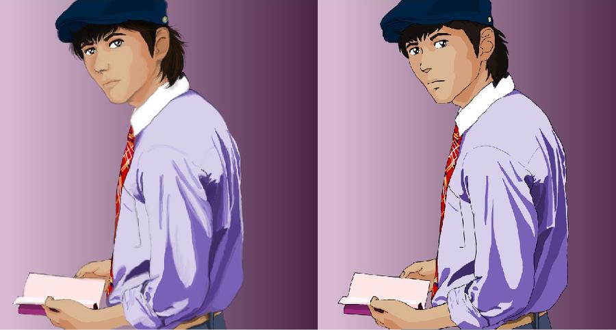 Genzo book Photoshop by kaori79