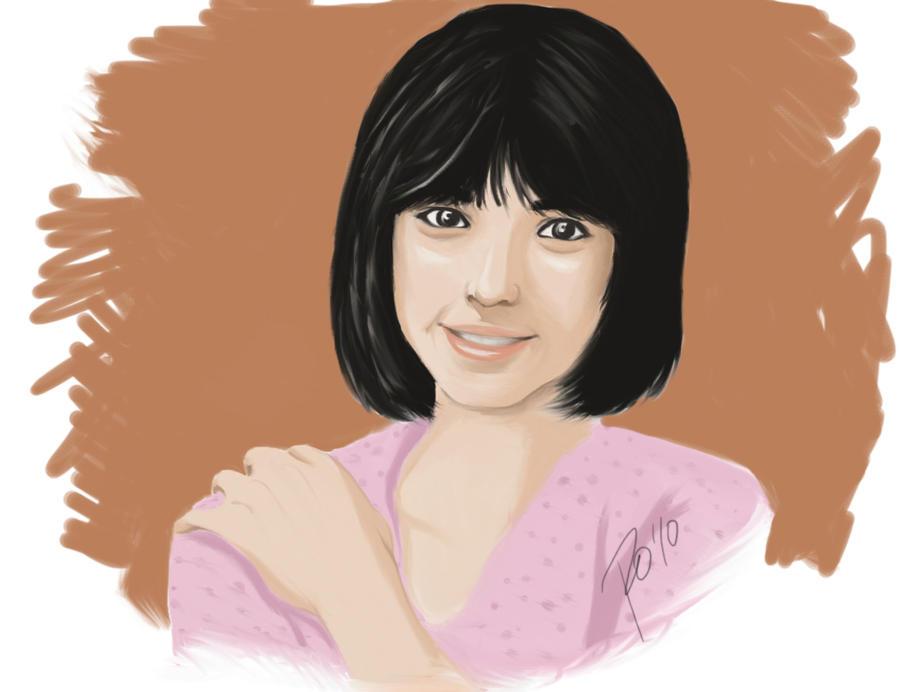 Sanae Nakazawa painting by kaori79