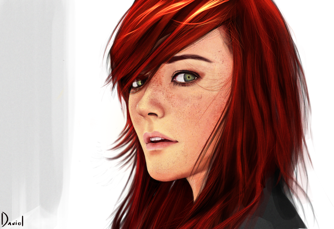 Redhead art Nude Photos 1