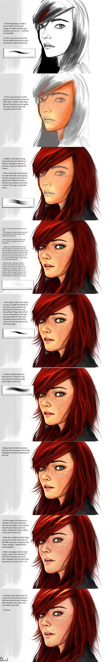 Redhead - Steps by DanOliveira