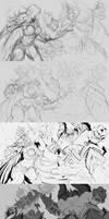 Steps Demons vs Zombies