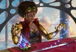 Weapon enchantress