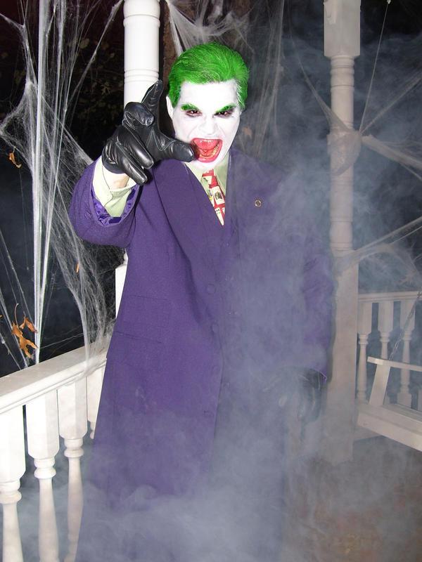 Joker in the fog by TheJokerha