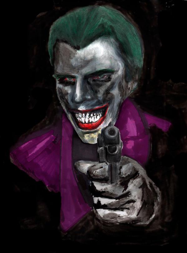 The Joker in darkness by TheJokerha