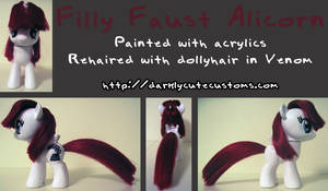 Filly Faust Alicorn