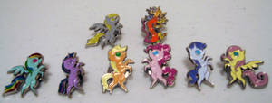 Pony Pins - Stained Glass