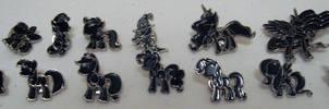 Pony Pins - Silhouettes by Kanamai