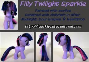 Filly Twilight Sparkle by Kanamai