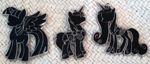 New Silhouette Pins