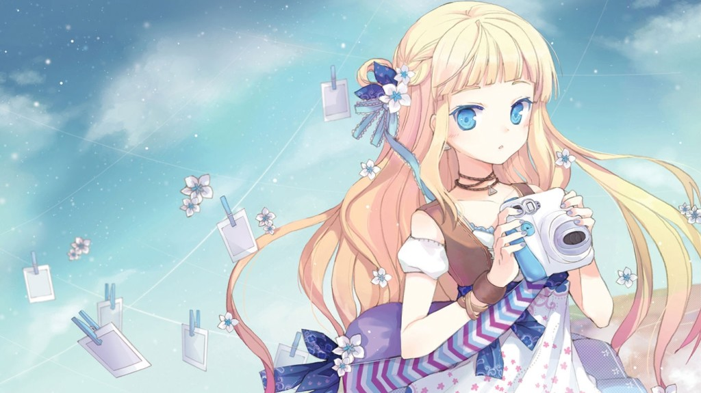 Anime Girl Kawaii With Camera Cute Wallpaper By Xxpinkycakexx On