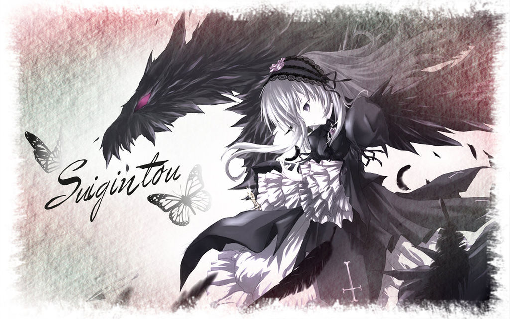 Rozen Maiden Suigintou Wallpaper By Daisukedarkness On