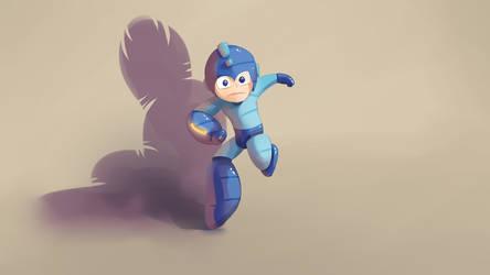 Illuday #28 - Mega Man by Illuday