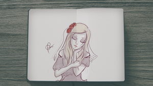 Sketchday #6 - Girl 2