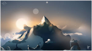 Illuday #41 - The lonely mountain by Illuday