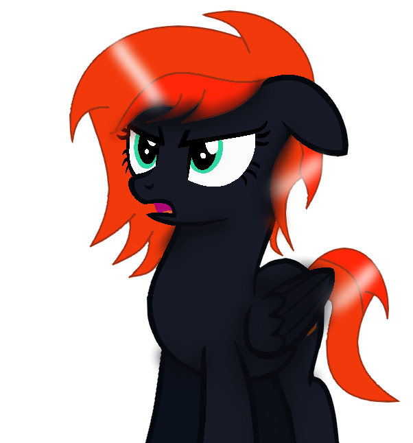 {Night Phoenix} What Did You Say?-Vector by NightFallArt32