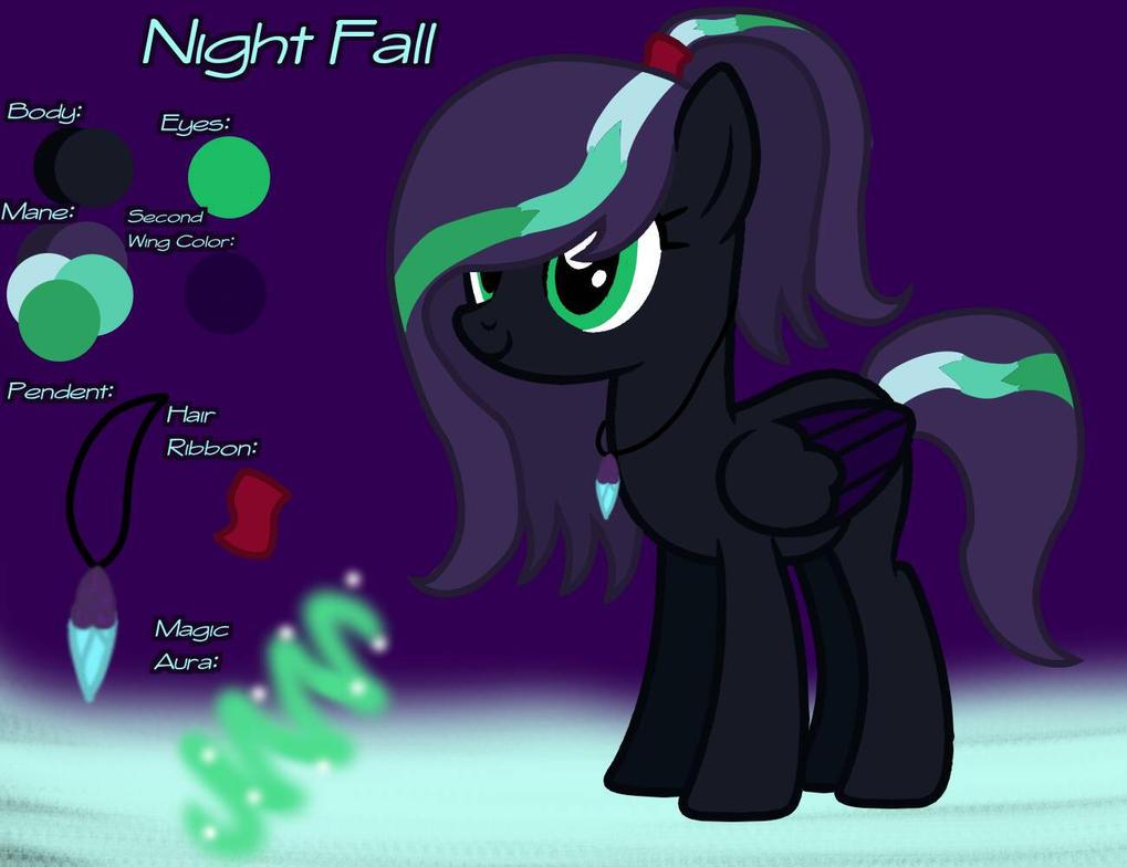 {Night Fall} Mini Reference Sheet by NightFallArt32