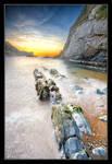 Sunrise along the Dorset Coast