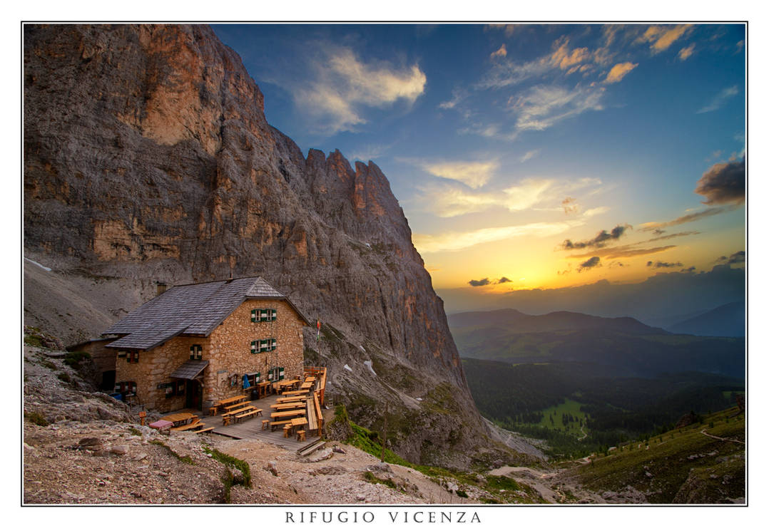 Rifugio Vicenza by thesolitary
