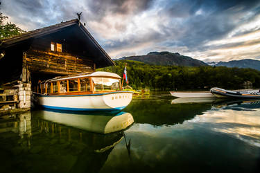 Bohinj Boathouse by thesolitary